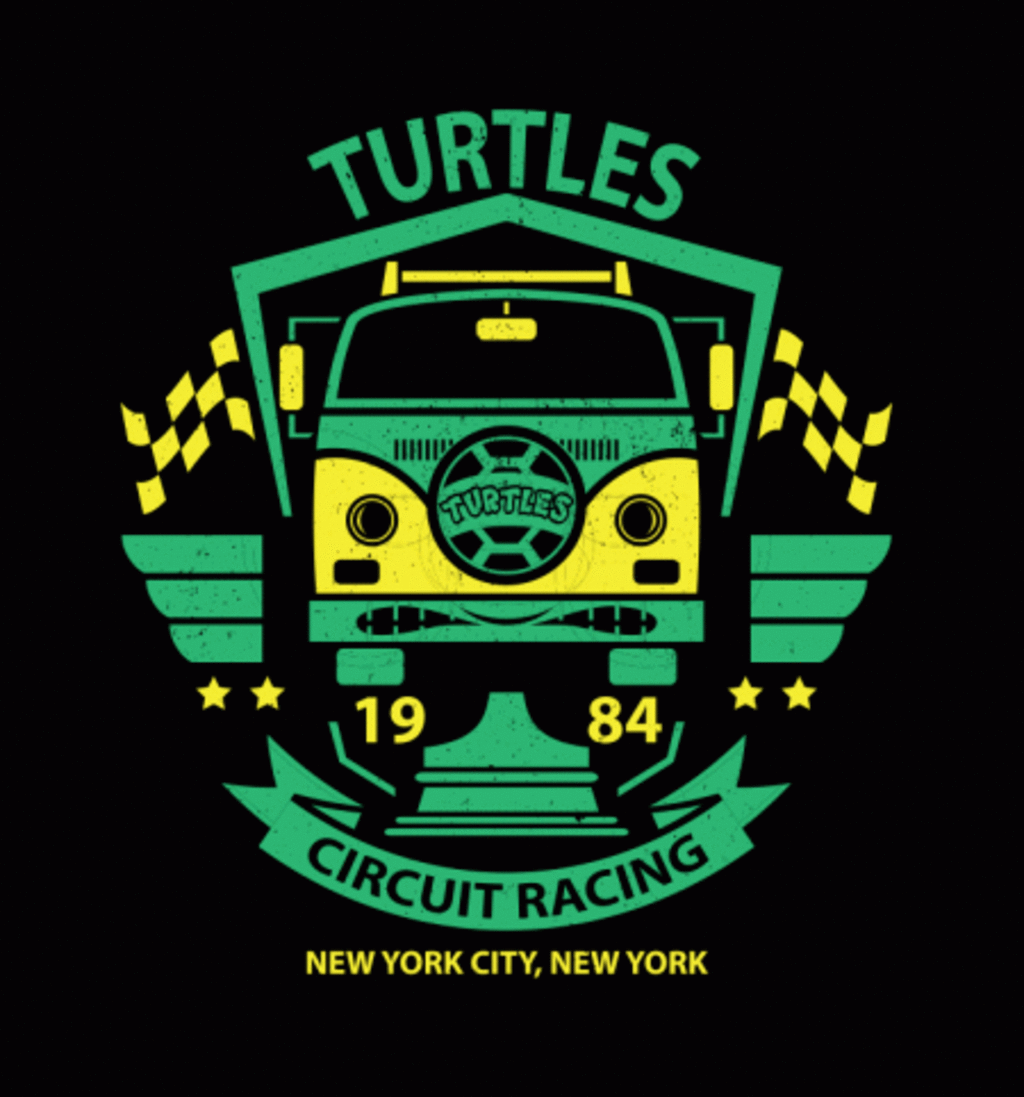 BustedTees: Turtles Circuit Racing