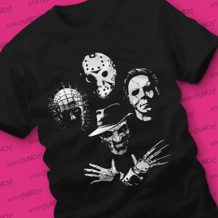 ShirtPunch: Horror Icons