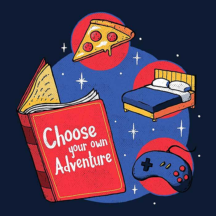 Once Upon a Tee: Choose Your Own Adventure