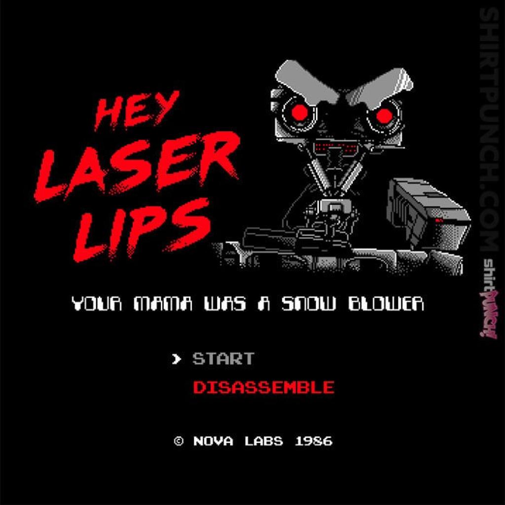 ShirtPunch: Laser Lips