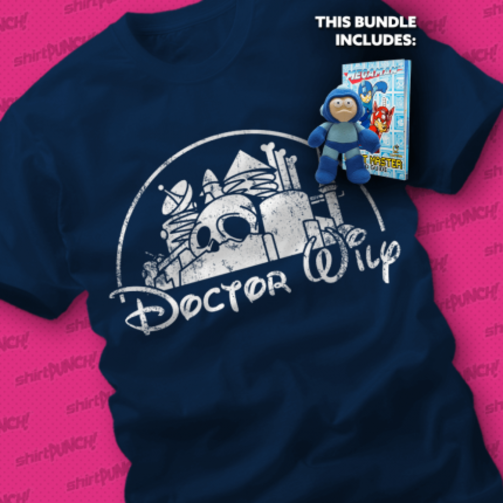 ShirtPunch: Defeat Dr. Wily Bundle
