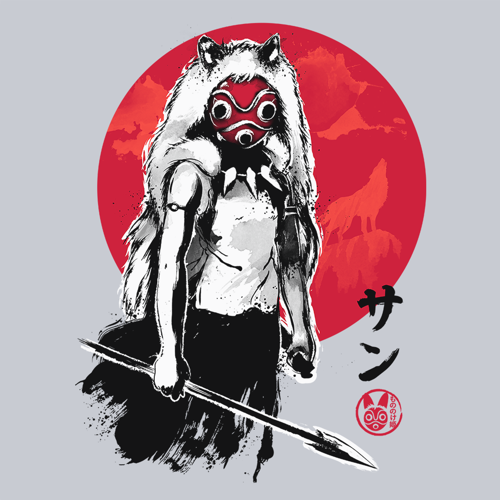 Pop-Up Tee: Princess of the Forest Sumie