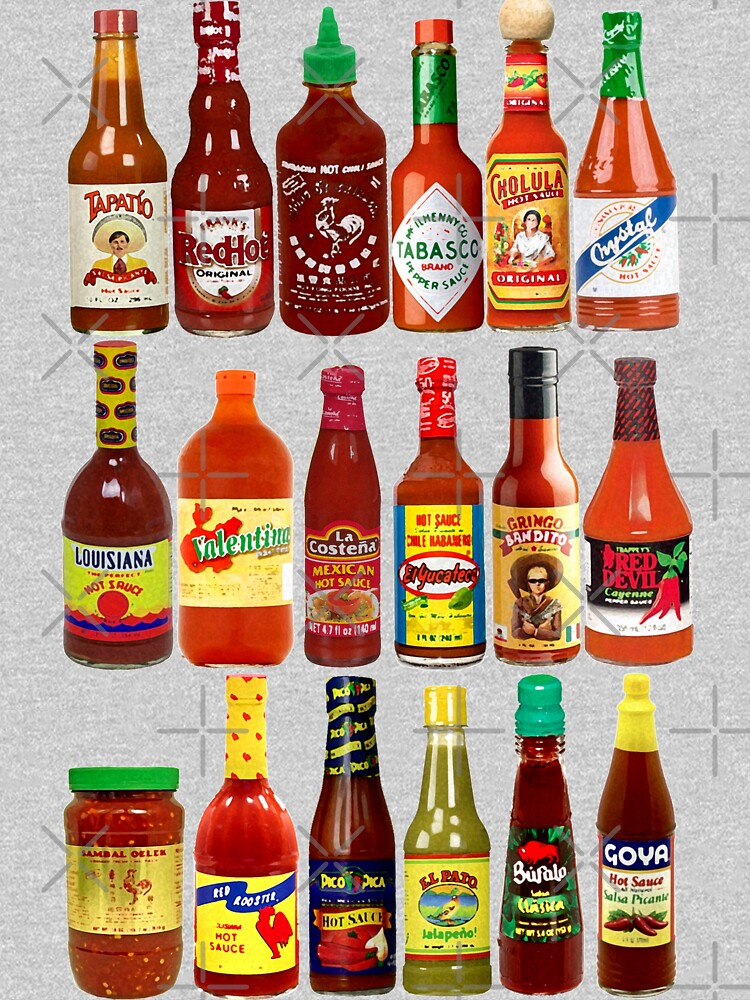 RedBubble: Hot Sauces, Baby!