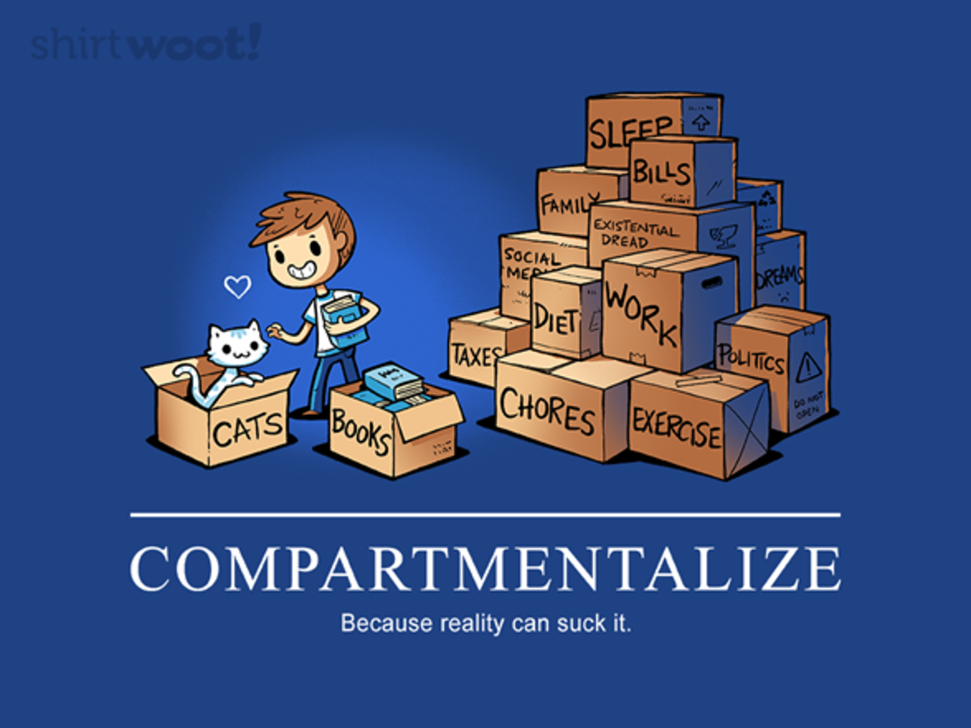 Woot!: Compartmentalizing