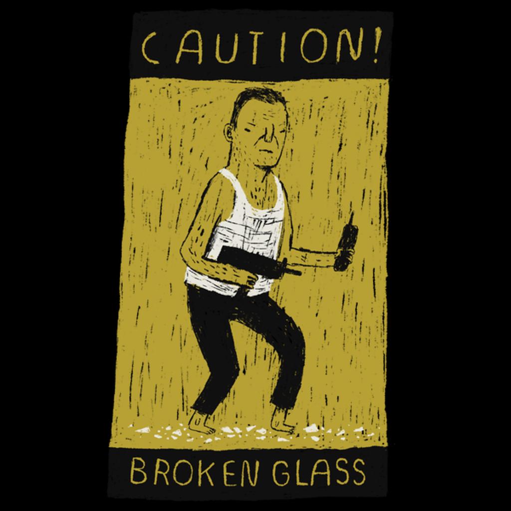 NeatoShop: caution broken glass