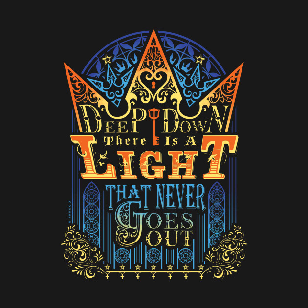 TeePublic: Sora's Faith T-Shirt