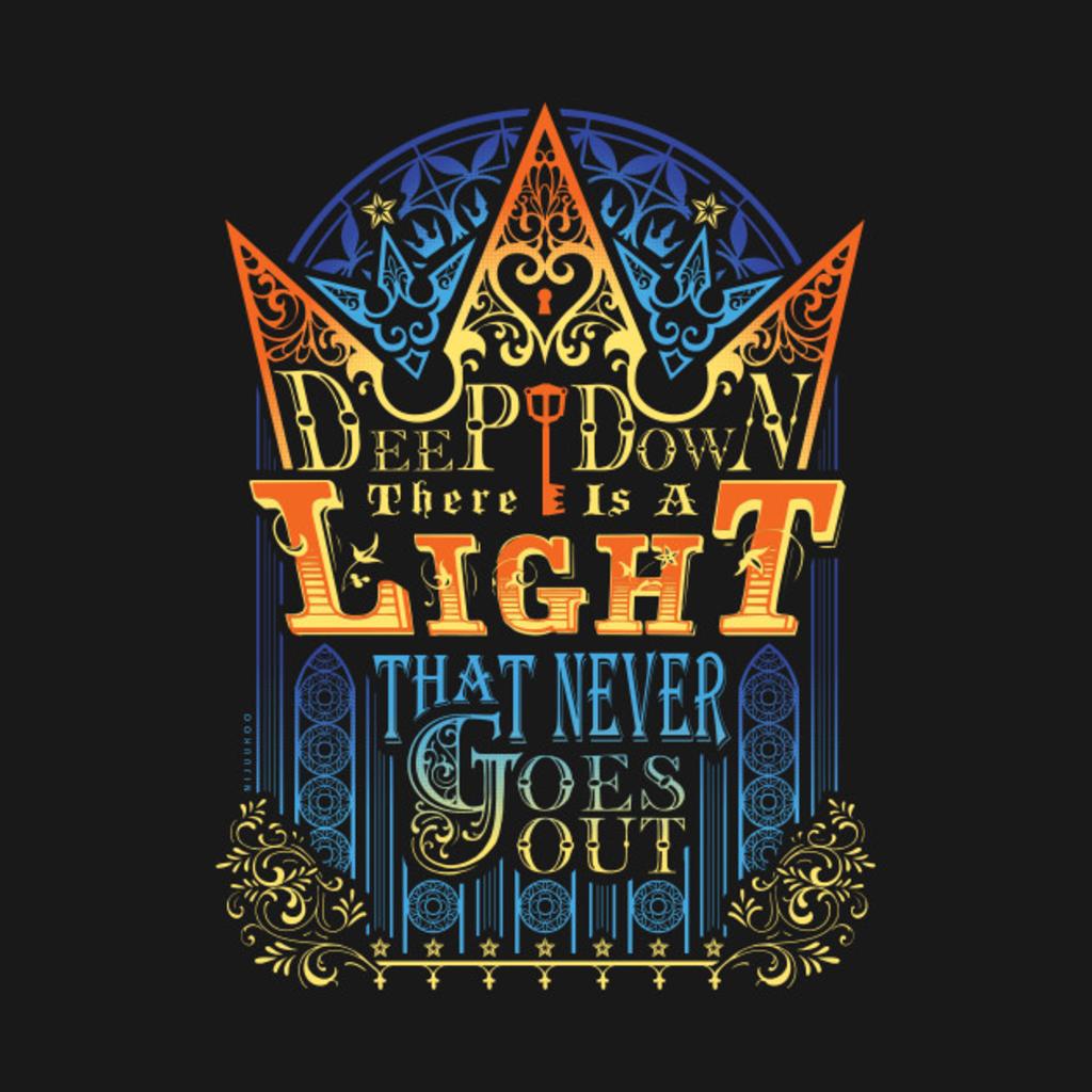 TeePublic: Sora's Faith T-Shirt