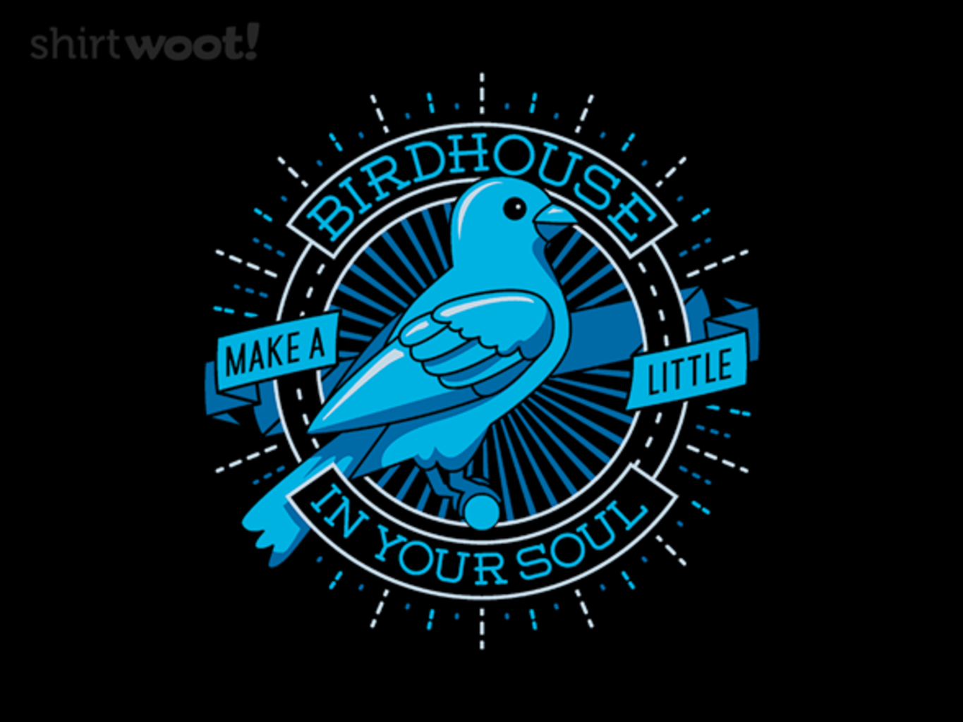 Woot!: Blue Canary Birdhouse