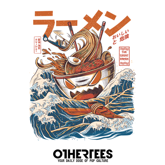 OtherTees: The Great Ramen of Kanagawa