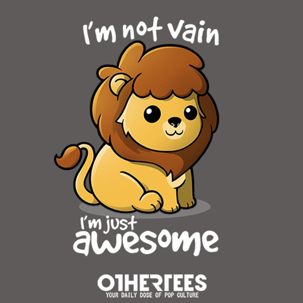 OtherTees: Vain lion