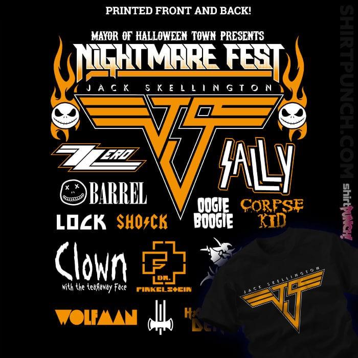 ShirtPunch: Nightmare Fest