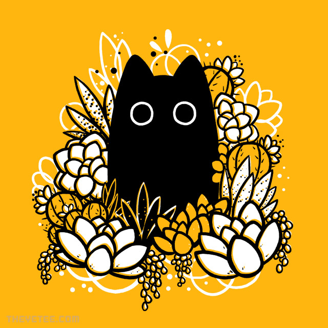 The Yetee: Floral Friend: Amaro