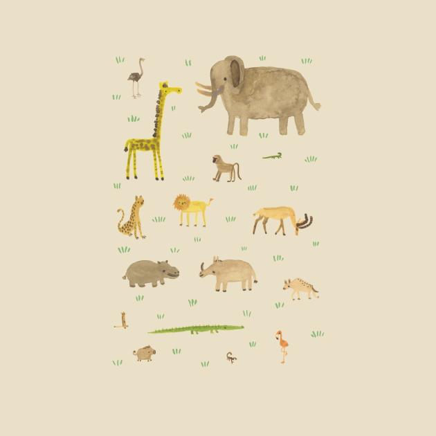 TeePublic: African Animals