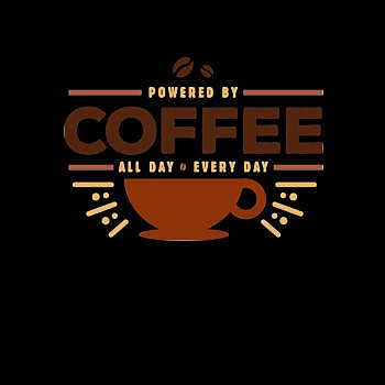 BustedTees: Powered By Coffee