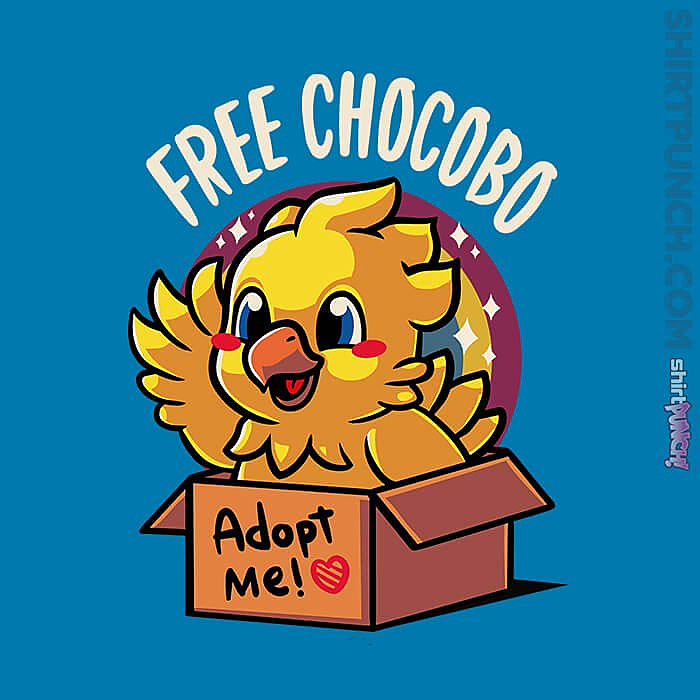 ShirtPunch: Adopt A Chocobo