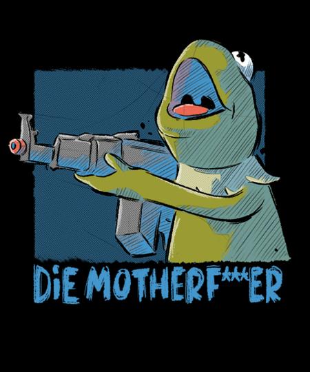Qwertee: Frog Gun