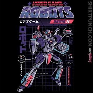 ShirtPunch: Video Game Robot Model N