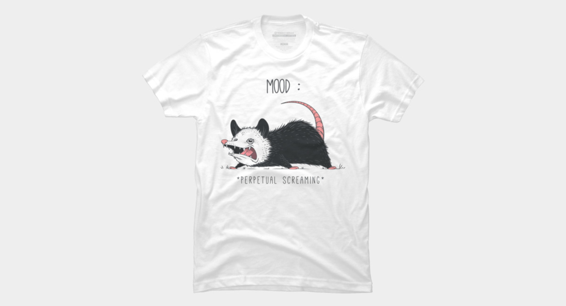 Design by Humans: Mood Possum