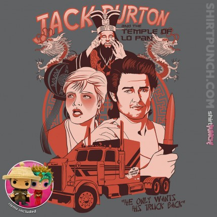 ShirtPunch: Big Trouble in Little China Bundle!