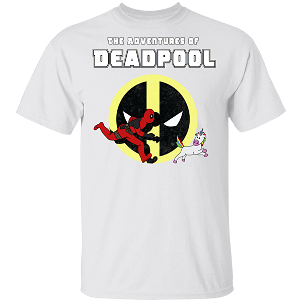 Pop-Up Tee: The Adventures Of Deadpool