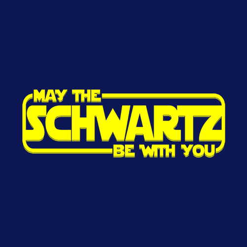 Five Finger Tees: May The Schwartz Be With You