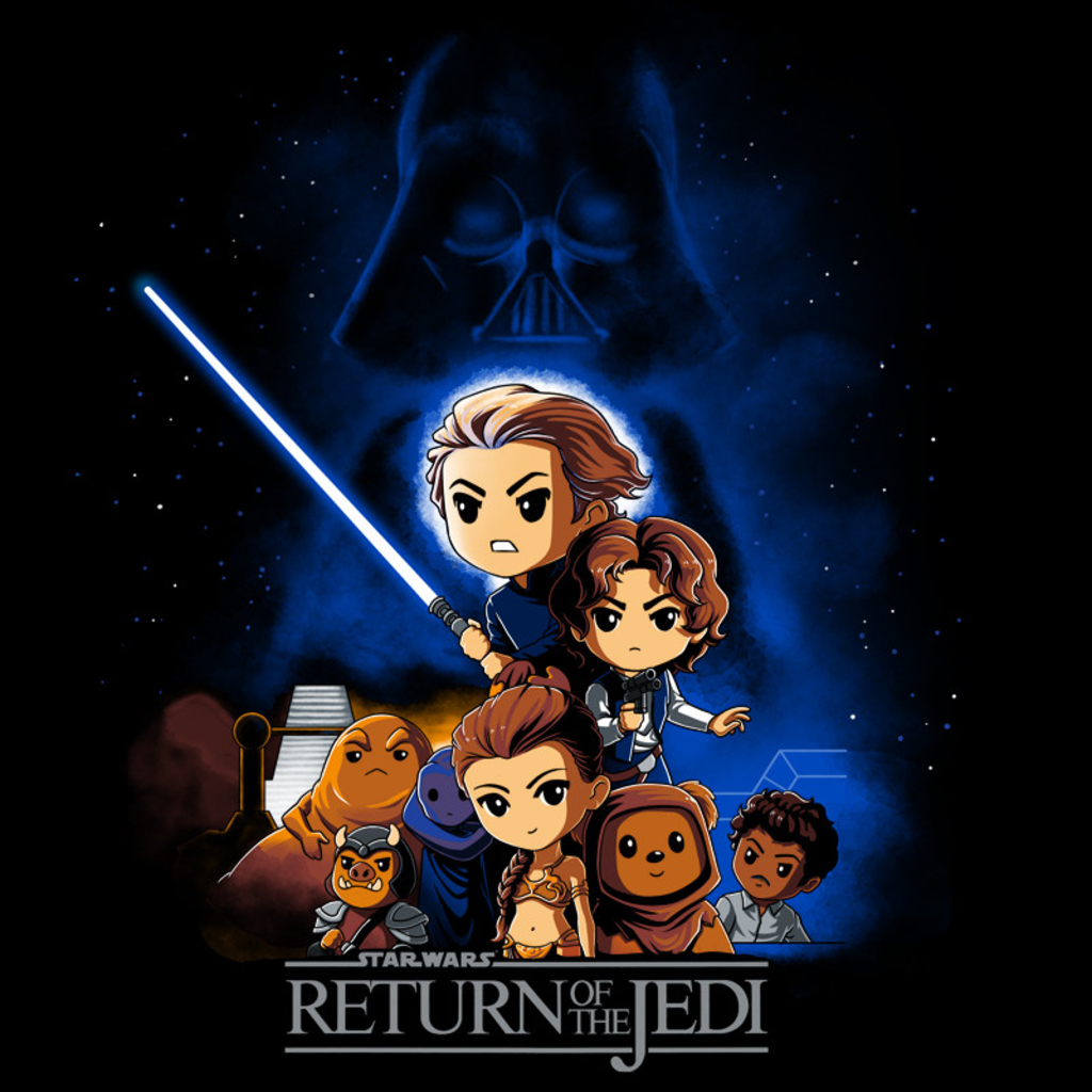 TeeTurtle: Star Wars: Episode VI - Return of the Jedi