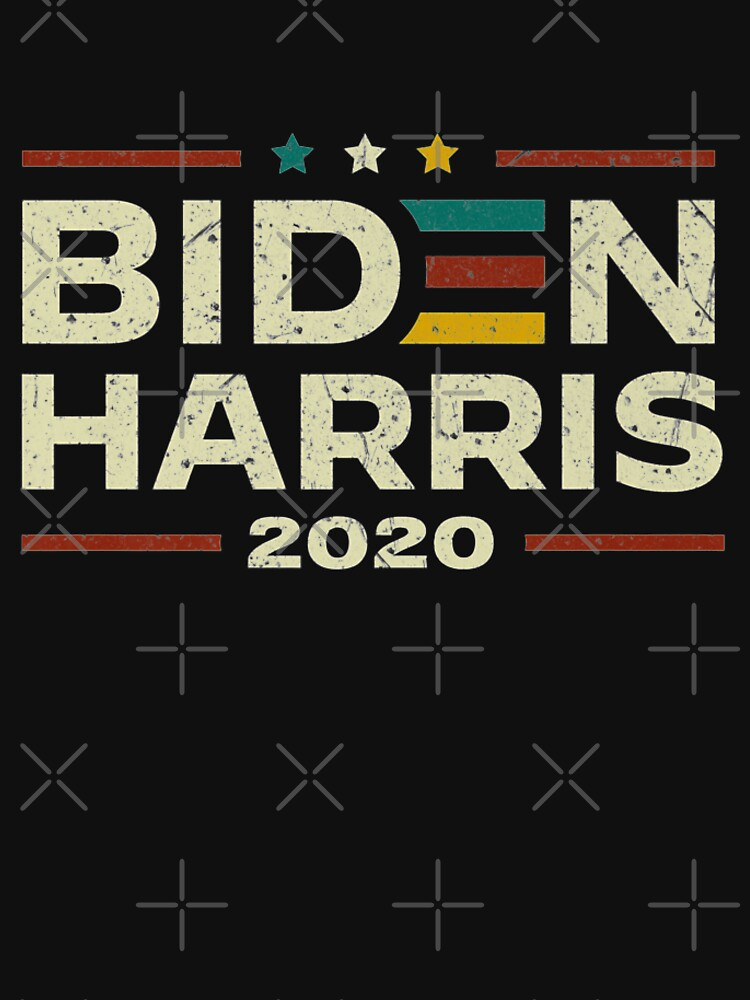 RedBubble: Biden Harris 2020 Retro Vintage Joe Biden Kamala Harris T Shirt Gift For Fans, For Men and Women