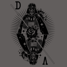 Textual Tees: Ace of Vader