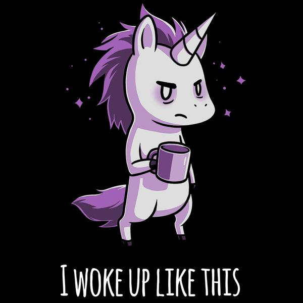 TeeTurtle: Morning Unicorn