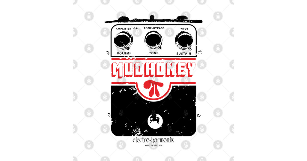 TeePublic: Mudhoney as worn by kurt cobain
