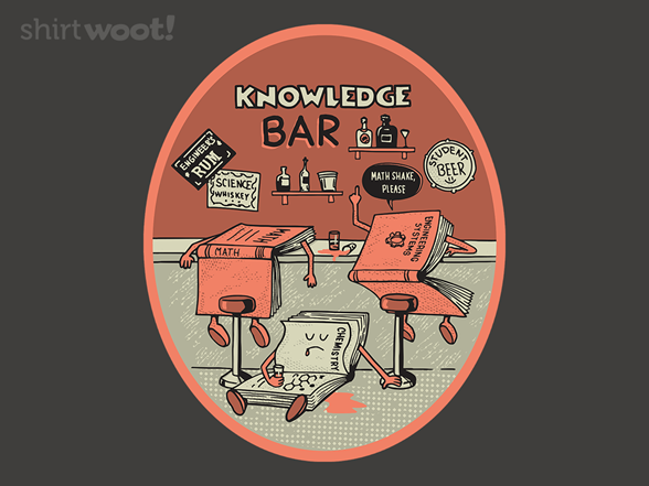 Woot!: Bar Knowledge