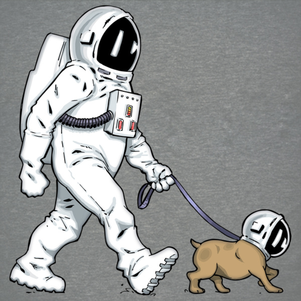 NeatoShop: Astronaut Dog Cool