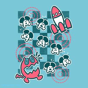 The Yetee: Rocket Mice
