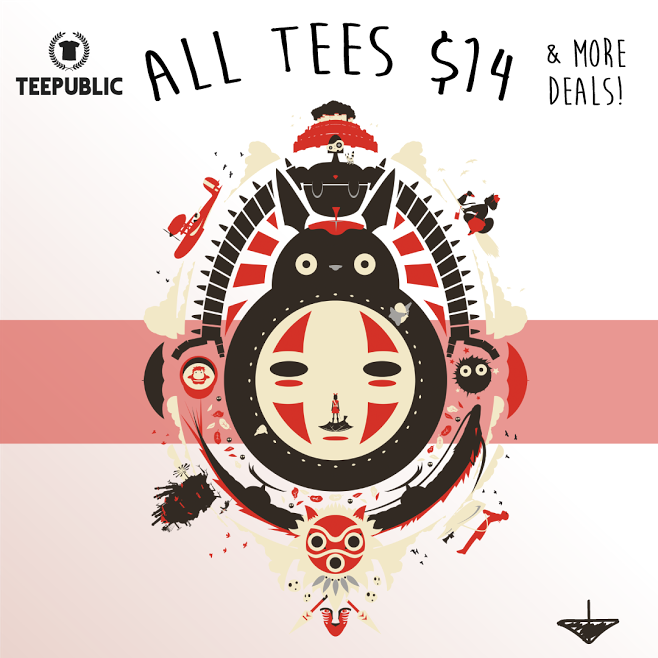 TeePublic: Monthly $14 Sale