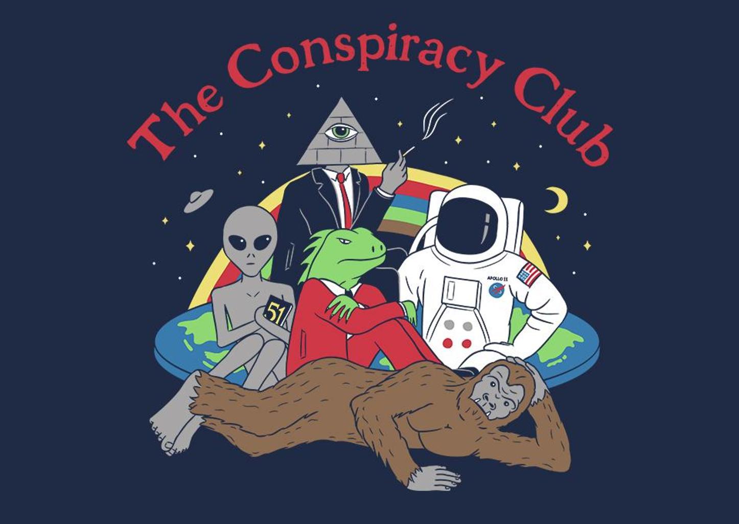 TeeFury: The Conspiracy Club