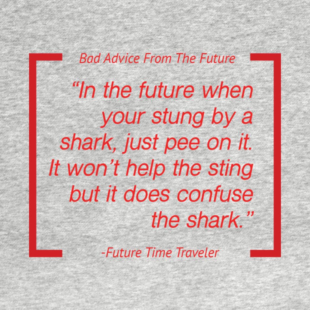 TeePublic: Peeing on Sharks