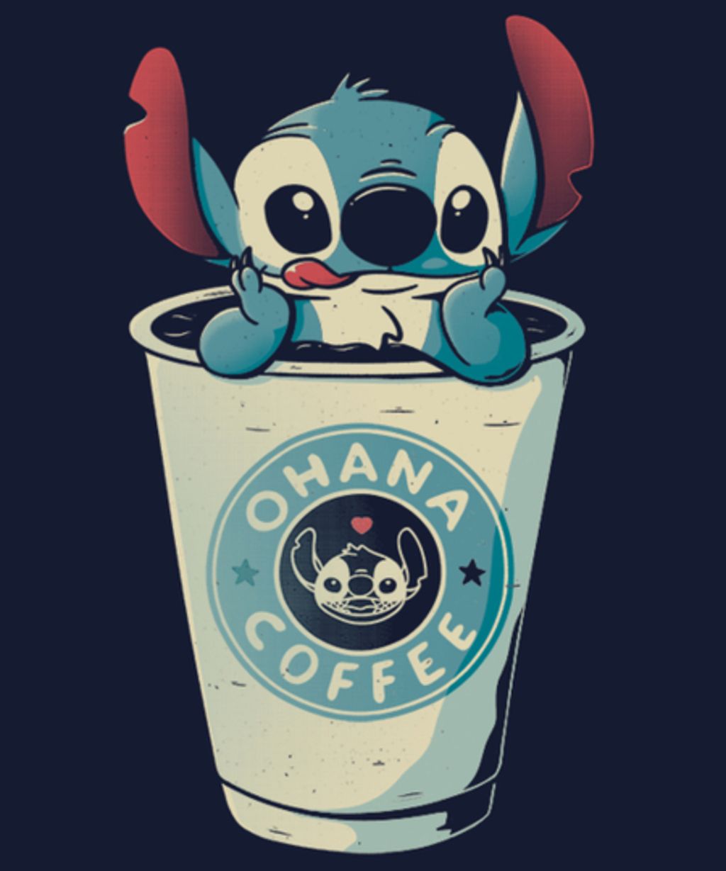 Qwertee: Ohana Coffee