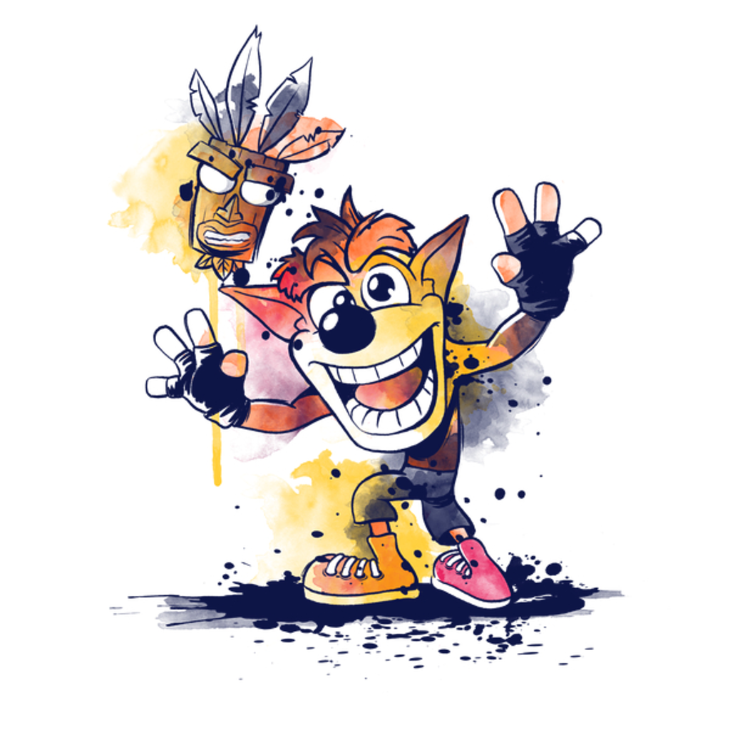 NeatoShop: Watercolor bandicoot