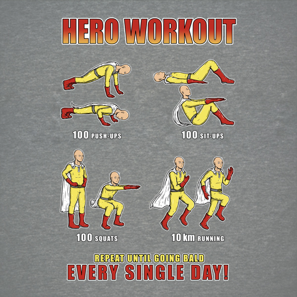 NeatoShop: HERO WORKOUT