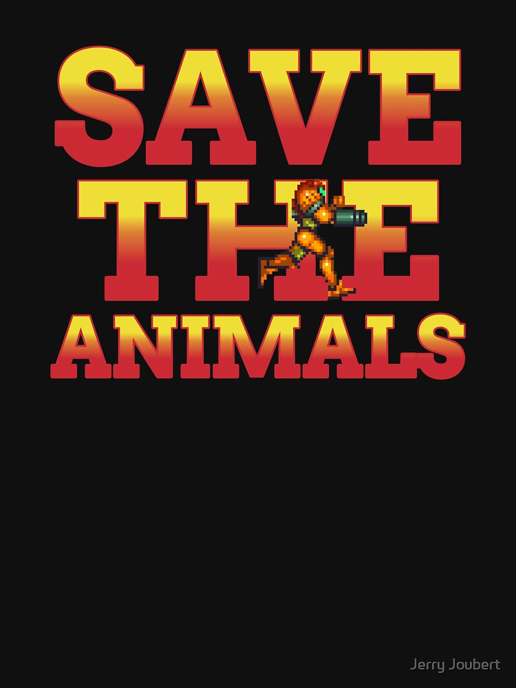 RedBubble: Save The Animals Metroid
