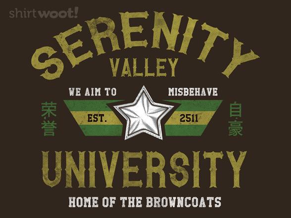 Woot!: Serenity Valley University