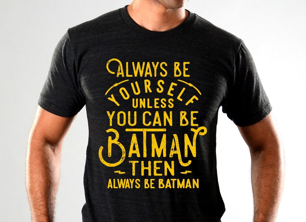 SnorgTees: Always Be Yourself Limited Edition Tri-Blend