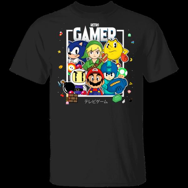 Pop-Up Tee: Retro Gamer
