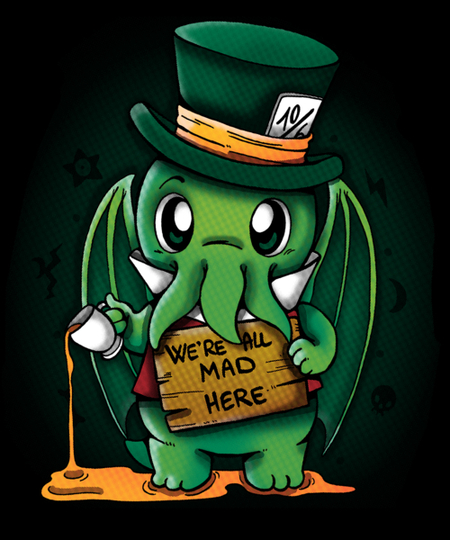 Qwertee: We are all mad here