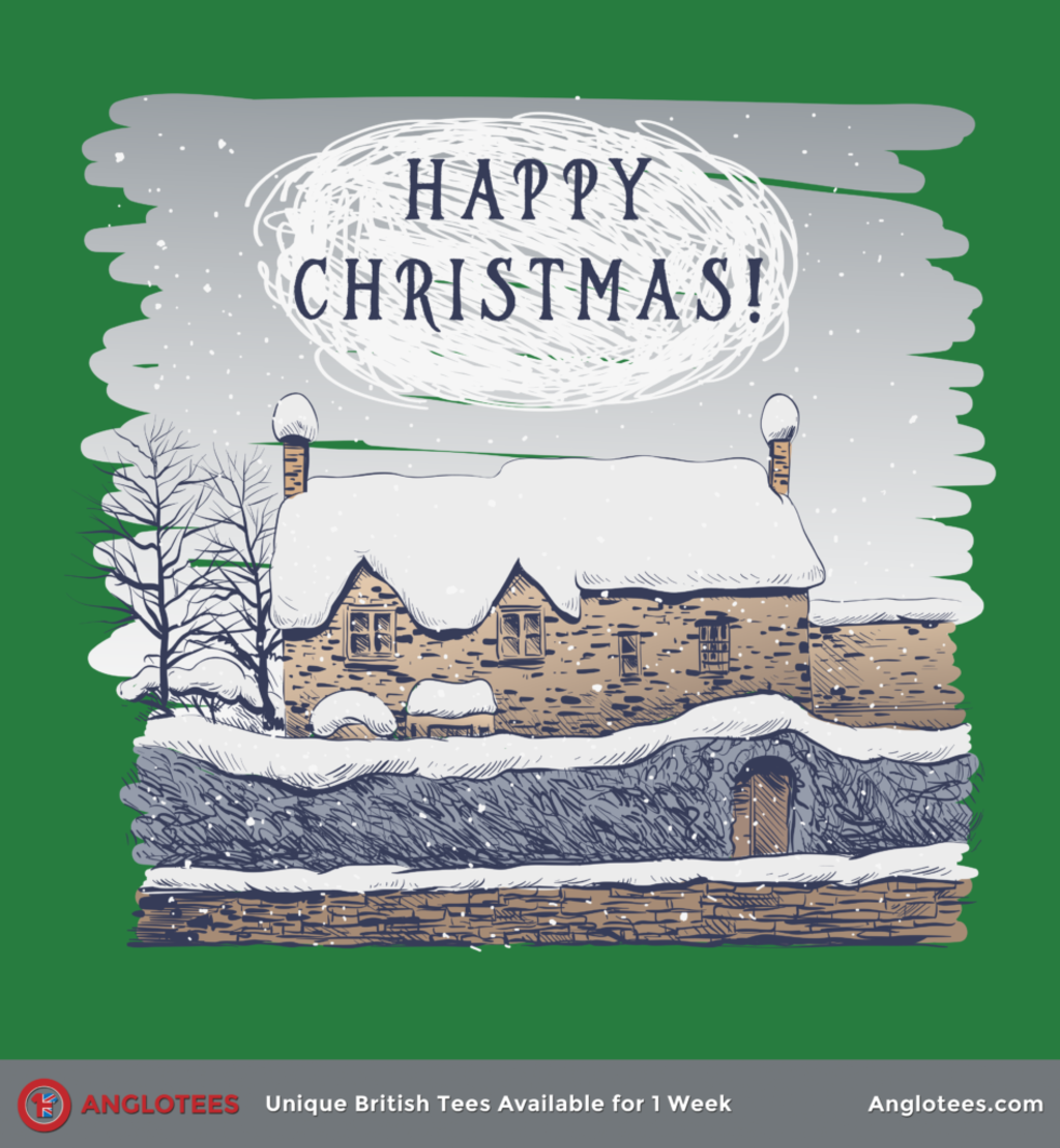 Anglotees: A Cottage Christmas