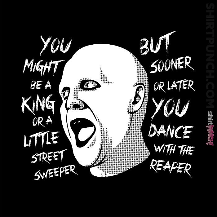 ShirtPunch: Dance With The Reaper