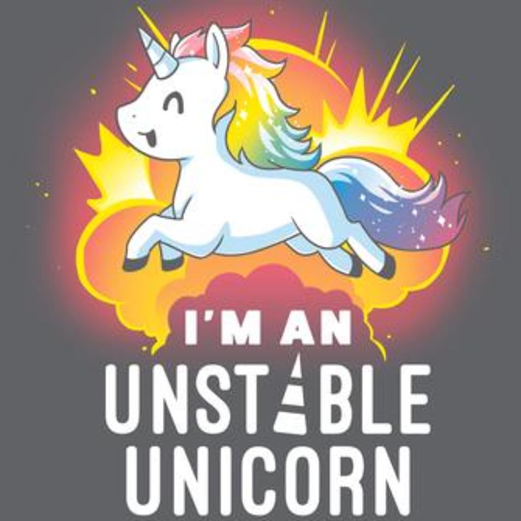 TeeTurtle: I'm An Unstable Unicorn