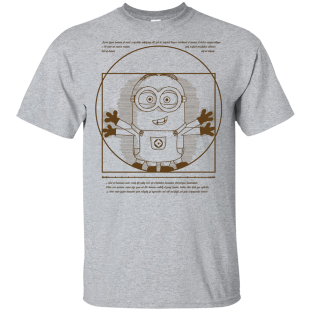 Pop-Up Tee: Vitruvian Minion