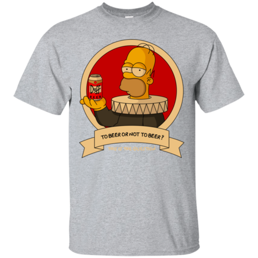Pop-Up Tee: To Beer or not to Beer