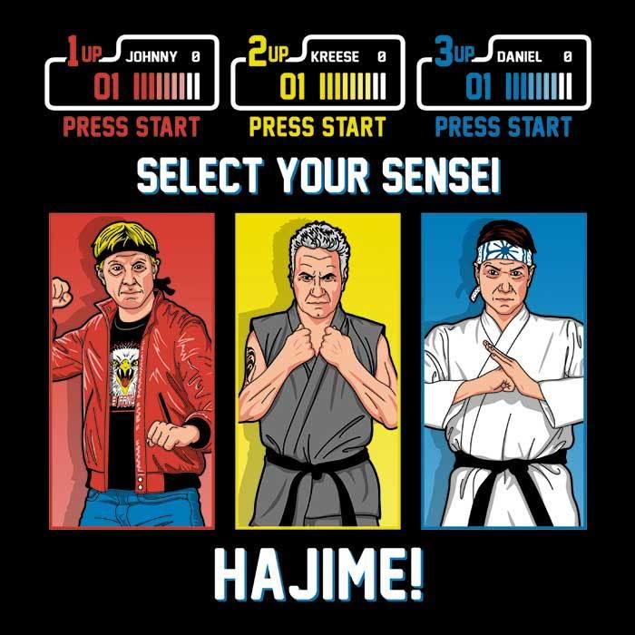 Once Upon a Tee: Select Your Sensei
